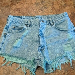 New Wrangler Cut Off Shorts